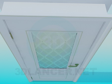3d моделирование Дверь со стеклом модель скачать бесплатно