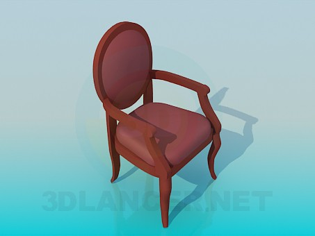 3d model Chair-classic - preview