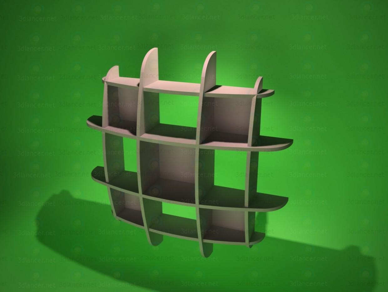 descarga gratuita de 3D modelado modelo Estante 1