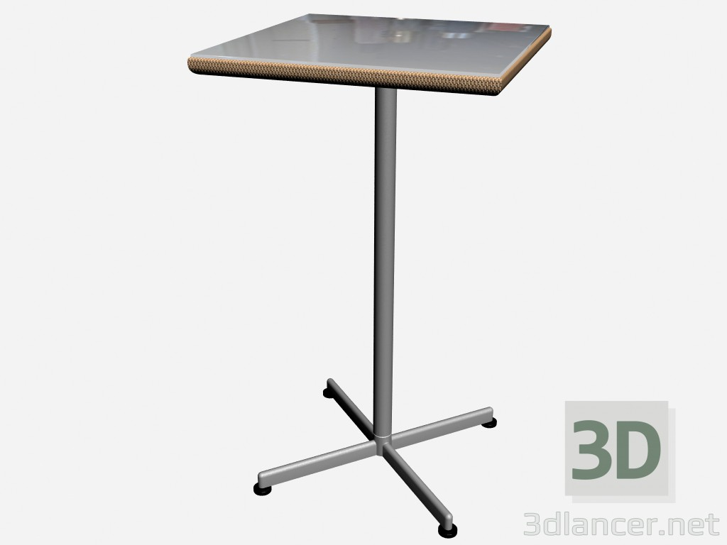 3d model Table bar Low Table Bar 8877 88066 - preview