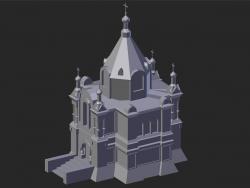 Suzdal. Mihaly Église Alexandre Nevski