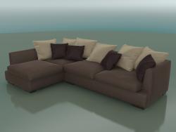 Corner sofa Ipsoni (3150 x 2090 x 730, 315-IP-209-CL)