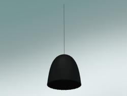 Lampada a sospensione (Bell 95, Nero lucido)
