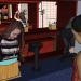 3d model Asian cafe - preview