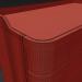 3d Junius chest of drawers in solid walnut, LA REDOUTE INTERIEURS model buy - render