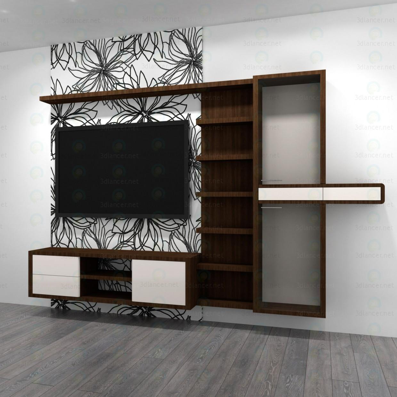 3d modeling Living Room Furniture model free download