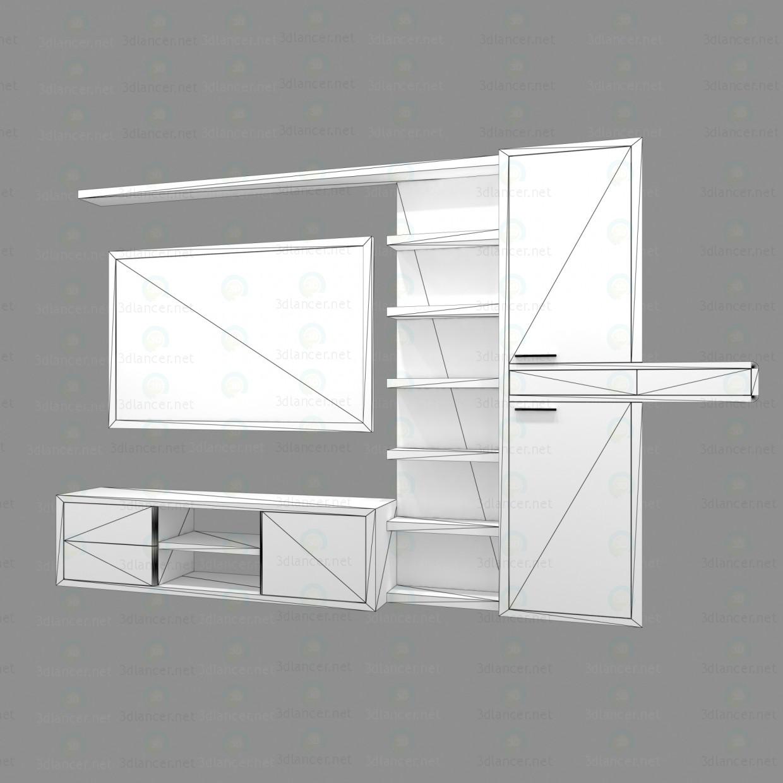 3d model Living Room Furniture - preview