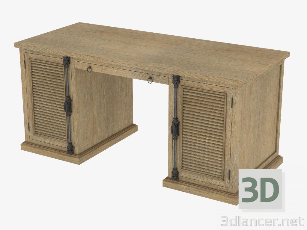 3d model Writing desk BRITANIA SHUTTER DESK (8834.0003) - preview