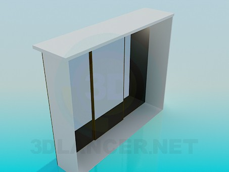 3d model Closet - preview