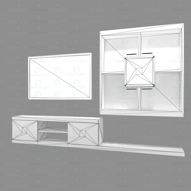 3d модель Мебель для гостиной – превью