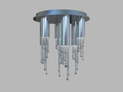 Chandelier ceiling Perlina MX93701-7