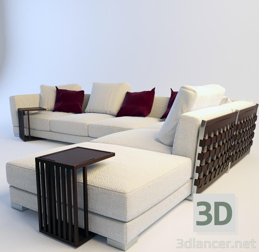 Scarica di Sofa-C modello gratuito di modellazione 3D