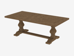 """Dining table 84 """"NEW TRESTLE TABLE (8831.1003.M.602)"""