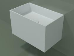 Wall-mounted washbasin (02UN32101, Glacier White C01, L 60, P 36, H 36 cm)