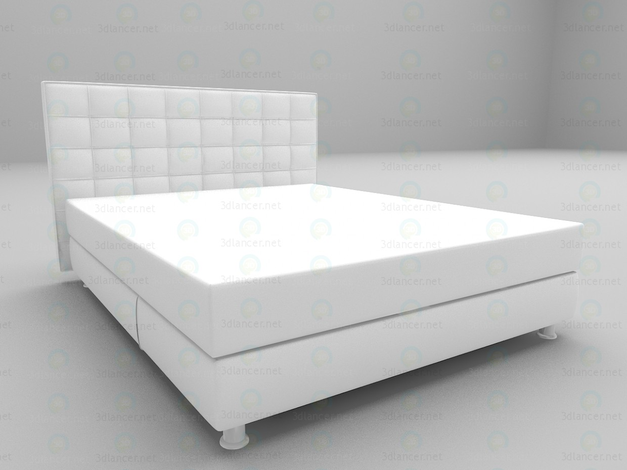 3d model Dream bed - preview