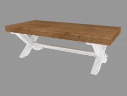 Table basse (PRO.075.XX 130x42x59cm)