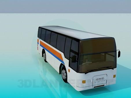 3d model Autobus - vista previa