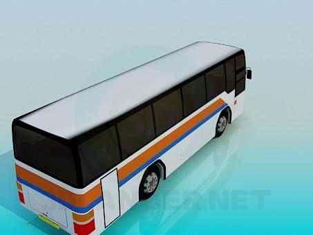 3d model Bus - preview