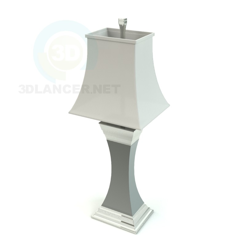 3d модель світильник – превью