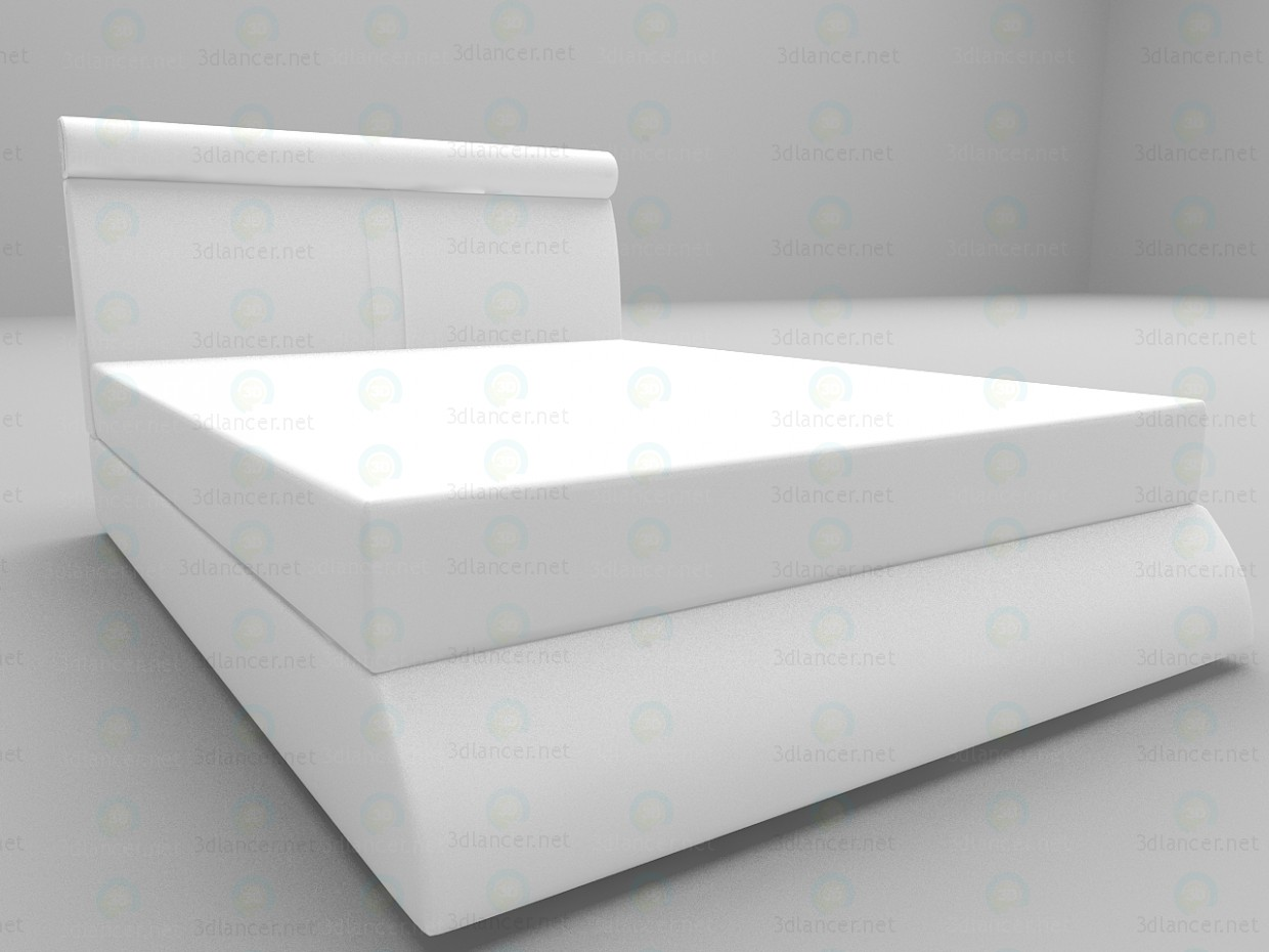3d model Camellia bed - preview