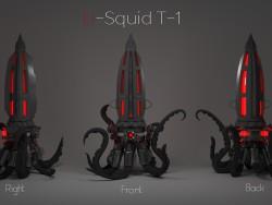 Night-light watches U-T-1 Squid