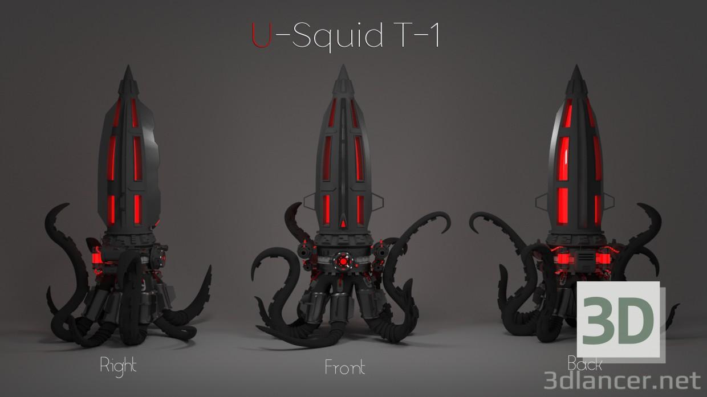 3d Night-light watches U-T-1 Squid model buy - render