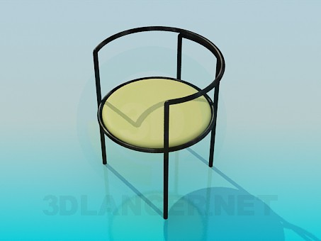 3d model The chair with soft seat - preview