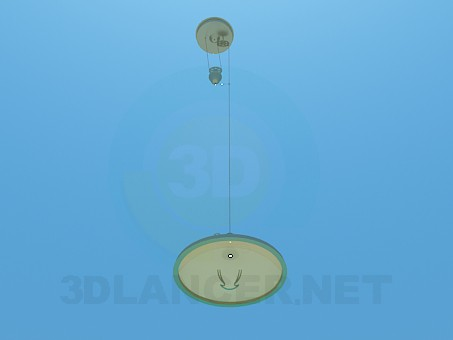 3d model Chandelier with adjustable height - preview