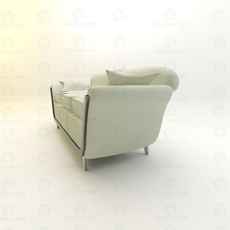 sofá para sala de estar 3D modelo Compro - render