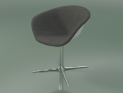 Chair 4215 (4 legs, swivel, with front trim, PP0001)