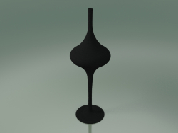 Floor lamp (M, Glossy Black)