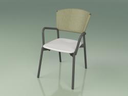 Chair 021 (Metal Smoke, Olive, Polyurethane Resin Gray)