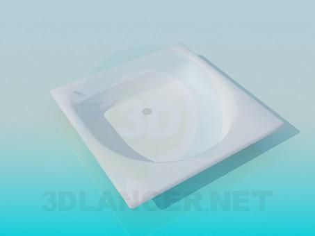modelo 3D Lavabo pequeño - escuchar