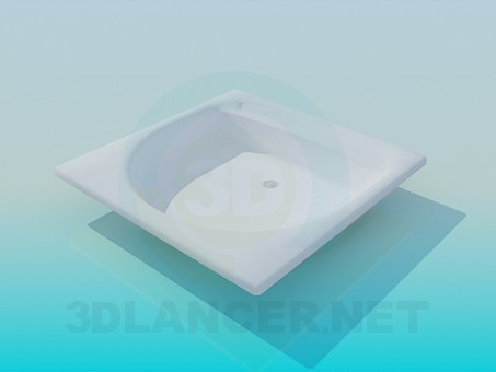 3d model Small sink - preview