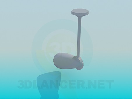 3d model Luminaire with lamp - preview