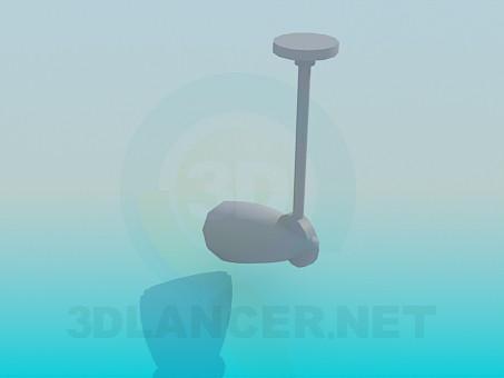 3d модель Світильник з плафоном – превью