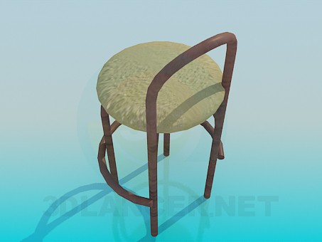 3d model Kitchen chair - preview