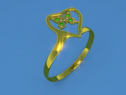 "Ring ""Butterfly"""