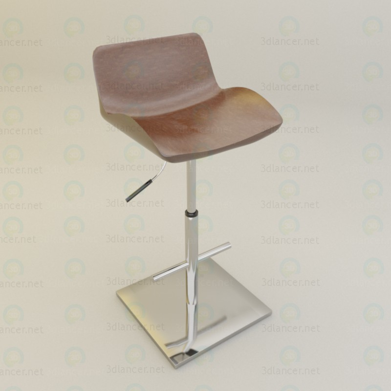 bar stool paid 3d model by psyromati preview