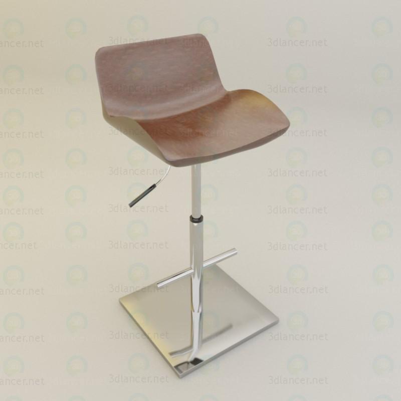 3d Барний стілець модель купити - зображення