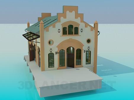 modelo 3D Edificio - escuchar
