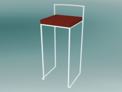 Stackable bar stool CUBA + CUBO (S62 H75)