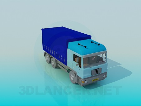 3d modeling Truck model free download