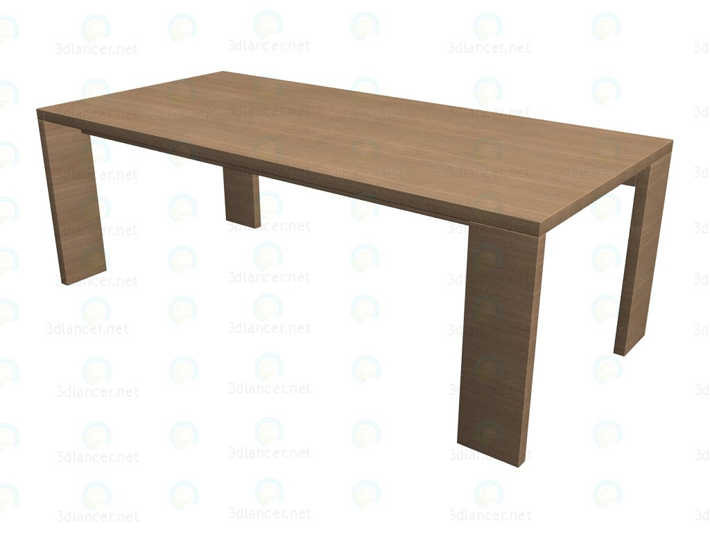 3d model table 9922 manufacturer b b italia id 13987 for Table 3d model