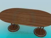 Большой стол в столовую комнату