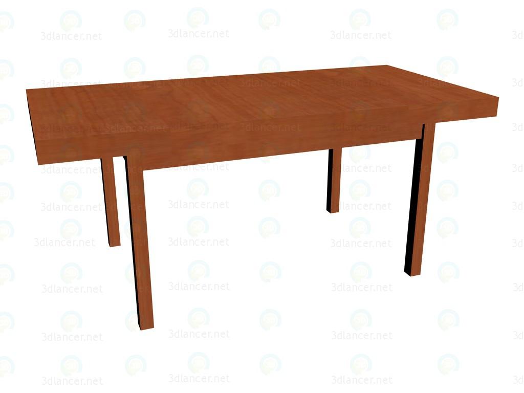 3d model Folding table (srednerazložennyj) - preview