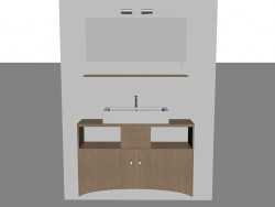 Modular system for bathroom (song 6)