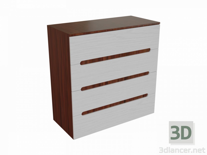 3d model Chest of drawers Vigo - preview
