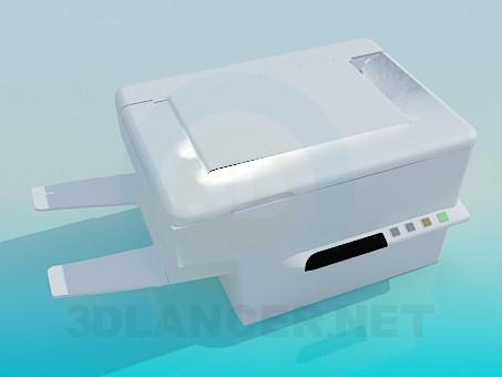 modelo 3D Escáner de - escuchar