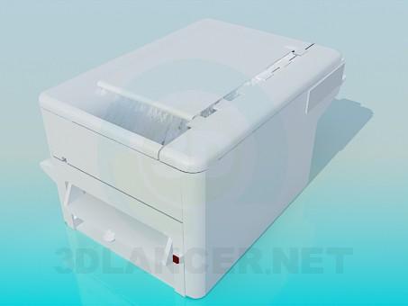 3d модель Сканер – превью